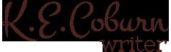 K.E. Coburn, Mystery Writer Logo